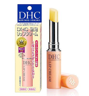 **DHC Lip Cream 1.5g. �Ի���ا����ջҡ �ʹ����ѹ�Ѻ 1㹭���� �����������ջҡ��¹������������� ����ѧ�����ѡ�Ҥ���������� �����������ջҡ��͹���� ������� ������ ᵡ �繢�� �������ջҡ���ժ���������繸����ҵ� ��������ҧ���The Best cosmetic ,   DHC