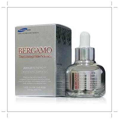 ** Bergamo The Luxury Skin Science BrighteningEX Whitening Ampoule 30ml แท้จากเกาหลีจ้า