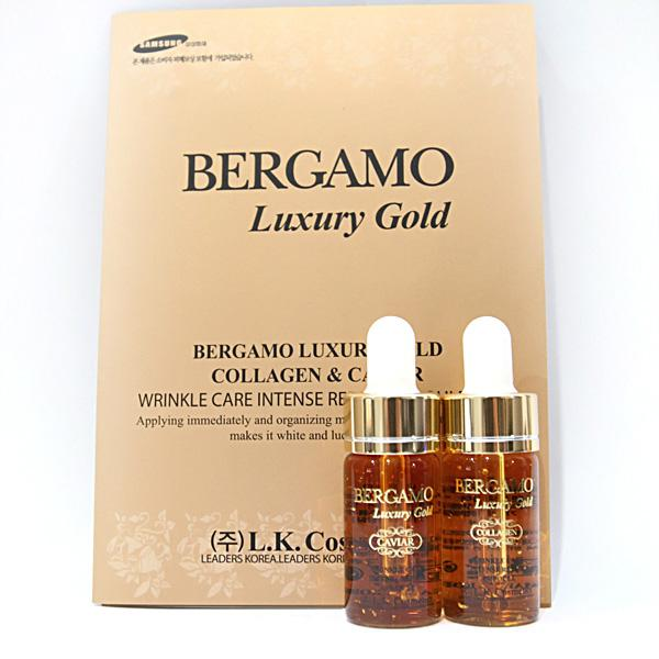 **�������Bergamo Luxury Gold Collagen & Caviar (1���) ���������ٵ÷ͧ�������ط��� + collagen �ٵô��������������ਹ